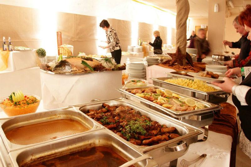 Beispiel: Speisen, Foto: Küffner Hof.