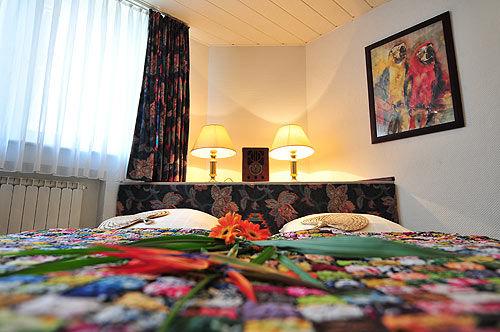 Beispiel: Zimmer, Foto: AKZENT Hotel Hahnenkamp.