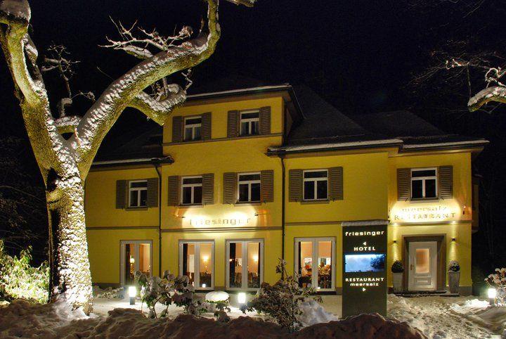 Beispiel: Restaurant im Winter, Foto: Restaurant Meersalz.