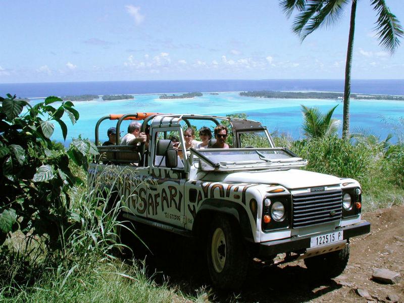 Beispiel: Jeep-Tour, Foto: Polynesia-Tours.