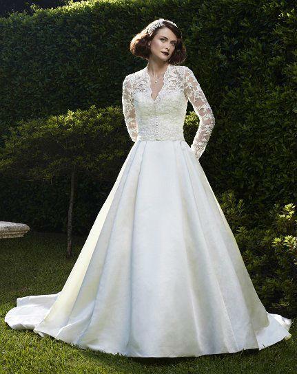 Beispiel: Brautkleider mit Stil, Foto: White Silhouette.