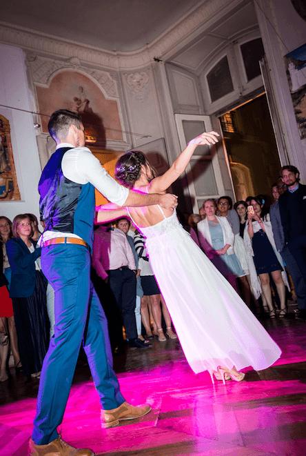 Les Mariés d'Ysatis - Danse Mariage Paris