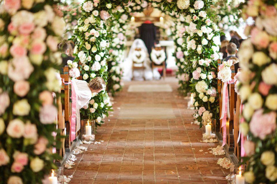 Beispiel: Ideen für die Hochzeitsfloristik, Foto: Anna Brinkmann Weddingdesign.