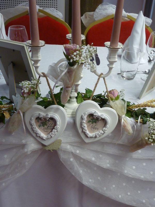 la table des mariées