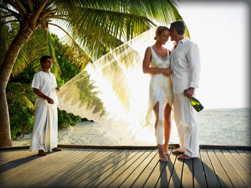 Beispiel: Traumlocation für Ihre Hochzeit, Foto: LUX*Resorts.