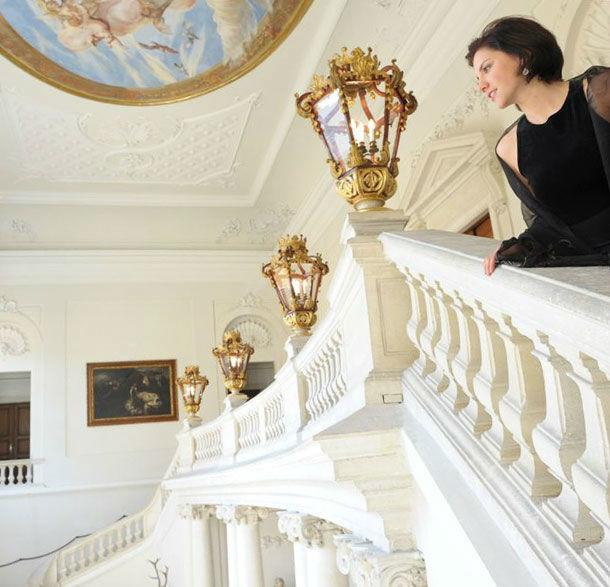 Beispiel: Innenbereich des Jagdschlosses, Foto: Jagdschloss Eckartsau.