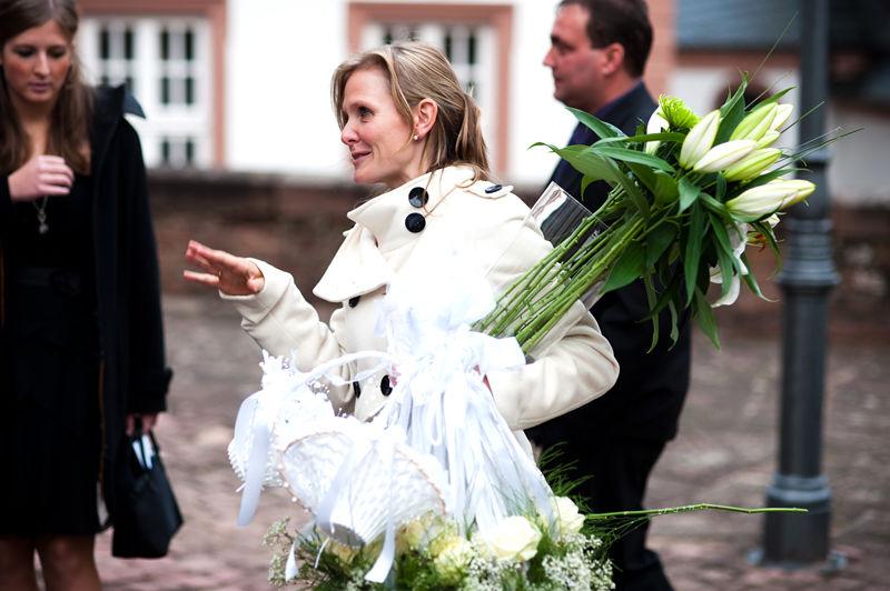 Miss Wedding, Katrin Schmülling, mit Rat und Tat im Einsatz
