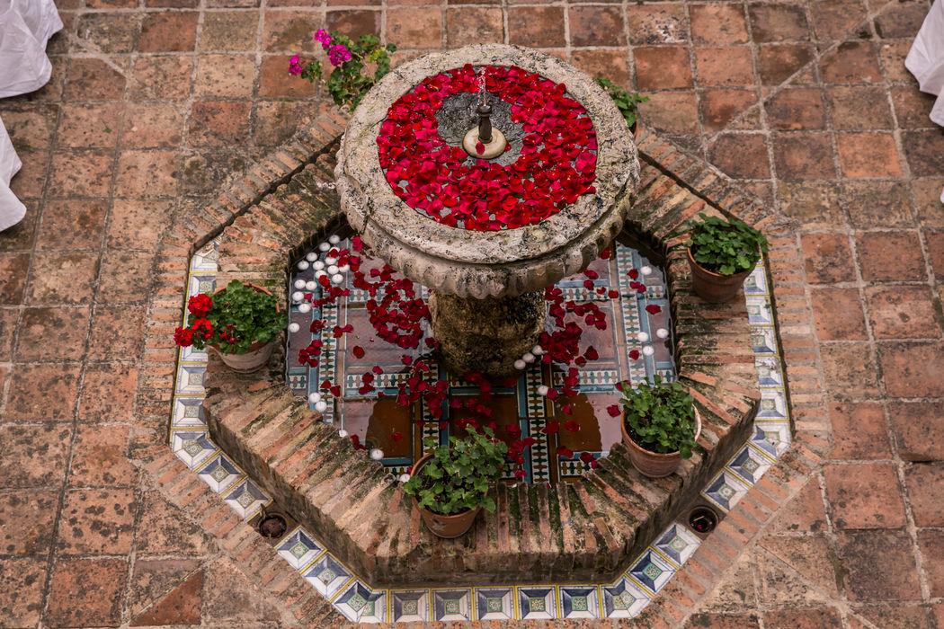 Fuente patio toledano HdC
