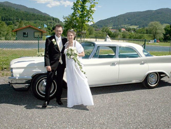 Beispiel: Chrysler New Yorker, Foto: Oldtimervermietung.cc