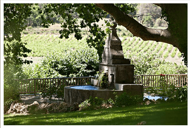 Jardin - Château Mentone