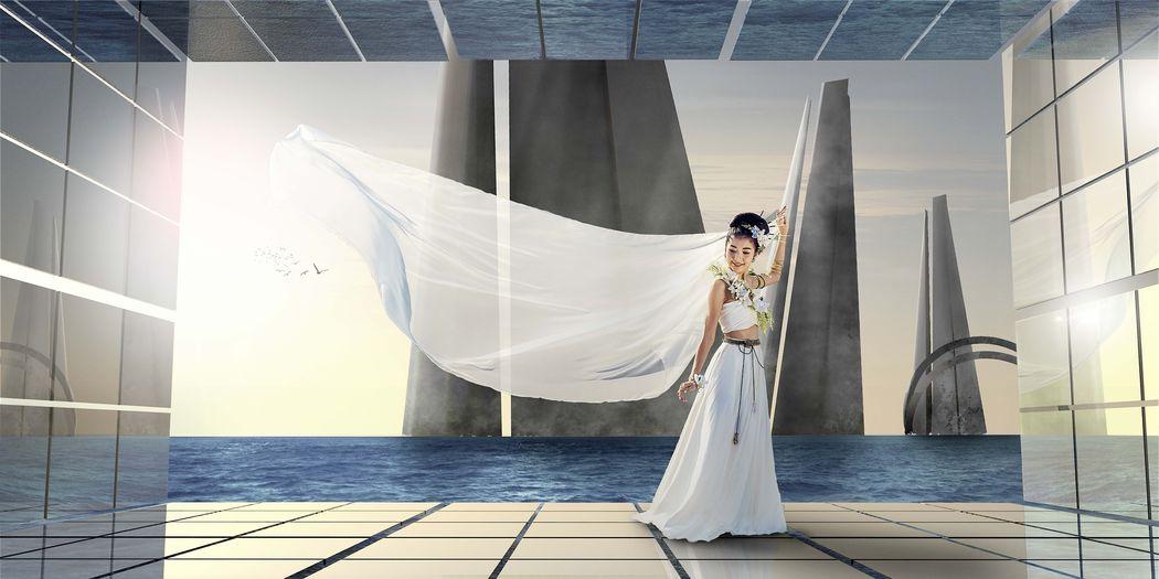 Fotomanipulación para novia