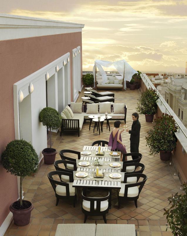Terraza de la Suite Real.