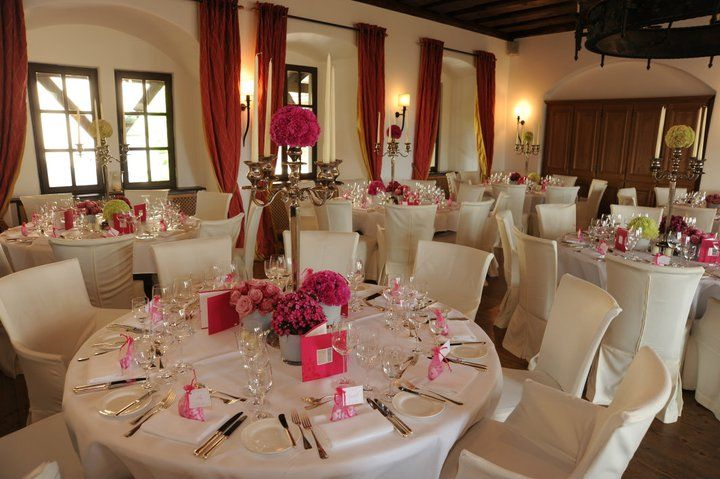 Beispiel: Hochzeitsgedeck, Foto: Burg Wernberg.