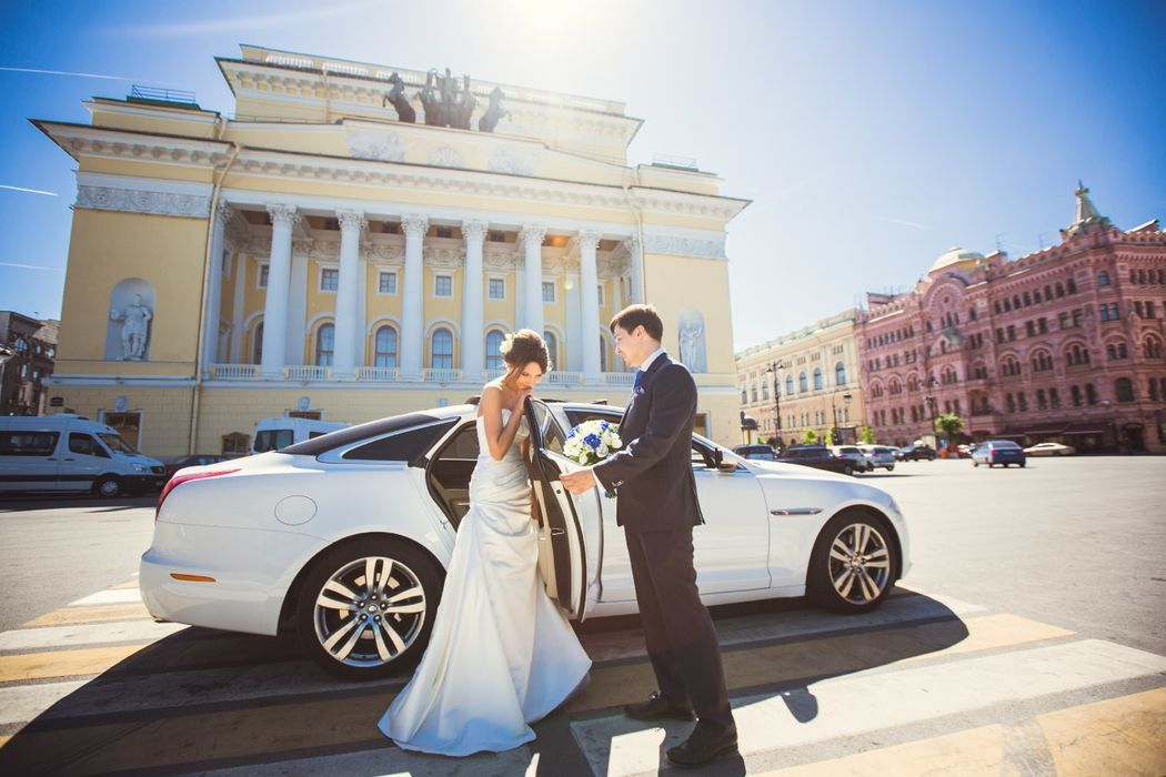 Свадебный кортеж MerryCars