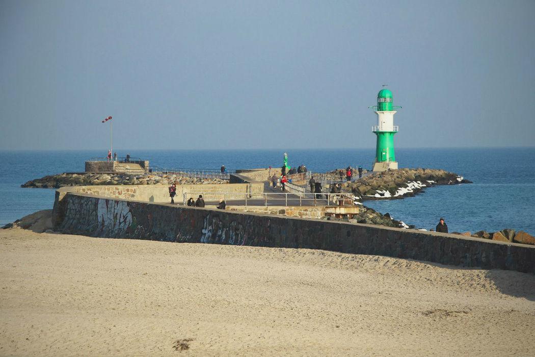 Beispiel: Warnemünder Strand, Foto: Hotel Neptun.