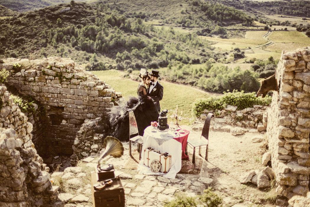 Mam'zelle Event mariage thème original Steampunk