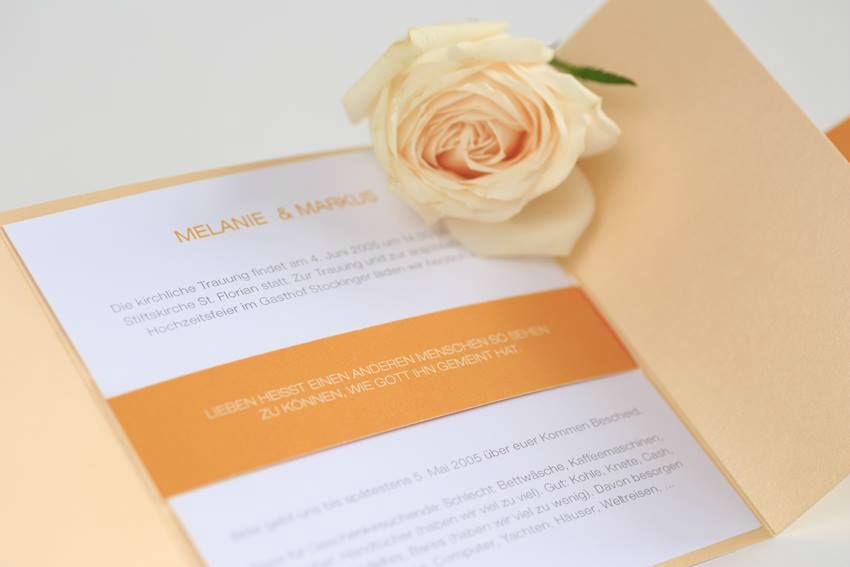 Farbenfrohe Einladung
