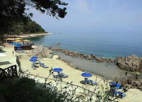 La spiaggia - Hotel Panta Rei