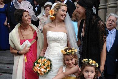 Flores el día de la boda