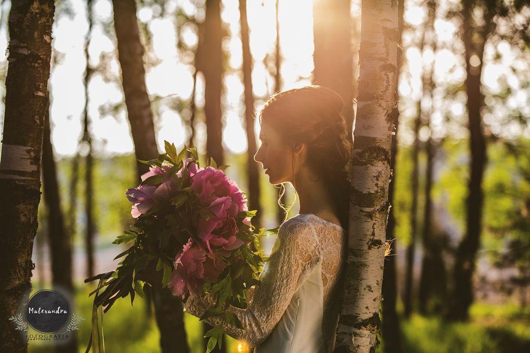 Fotografia ślubna - sesja plenerowa