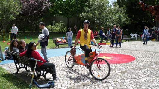 Animação com Bicicletas