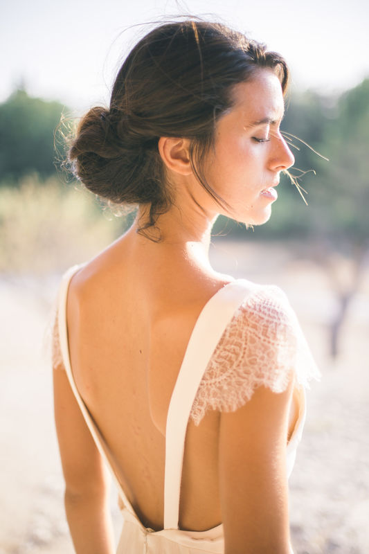 Robe de mariée en soie : Astraéléna