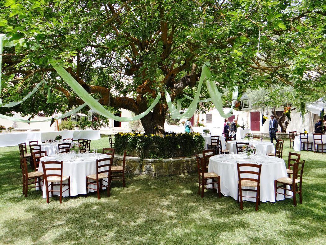 Masseria Rossella - Matrimonio all'aperto