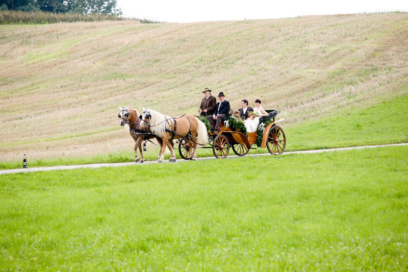 Beispiel: Hochzeitskutsche, Foto: AmVieh-Theater.