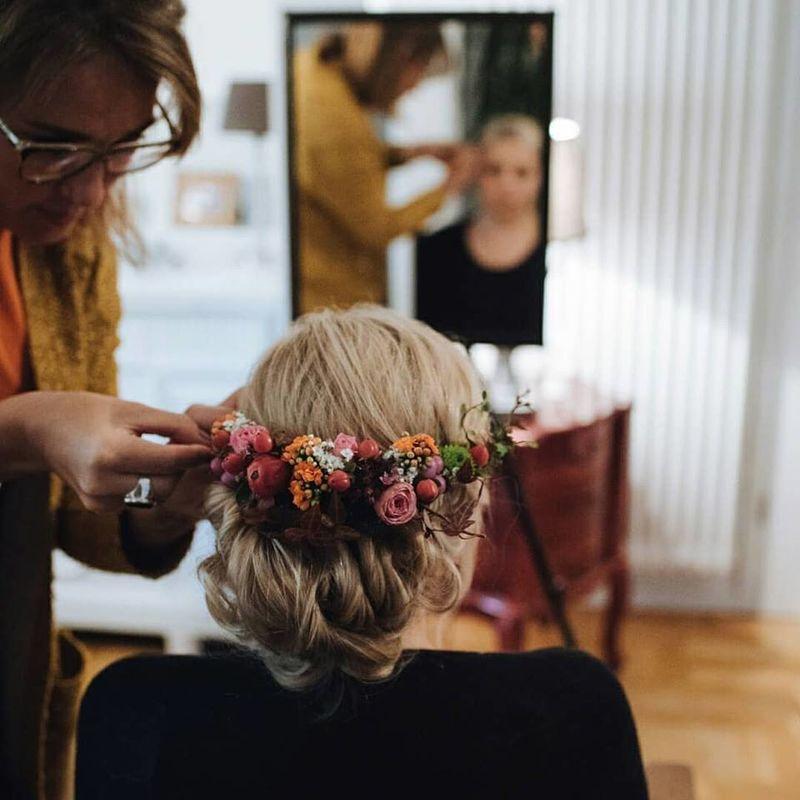 Friseurmeisterin Denise Langner