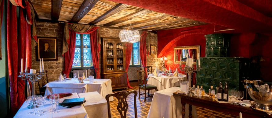 Beispiel: Innenraum, Foto: Hotel Hirschgasse.