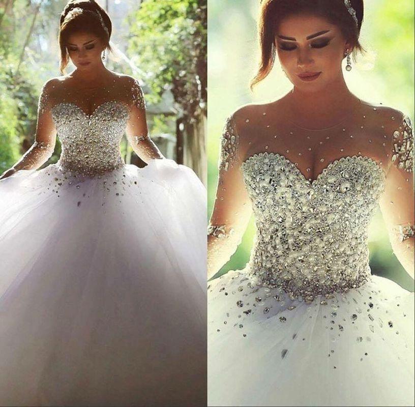 Vestido coleção diamante Santrix Noivas