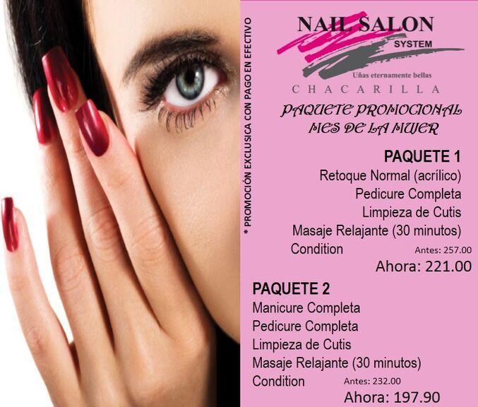 Nail Salon System Chacarilla