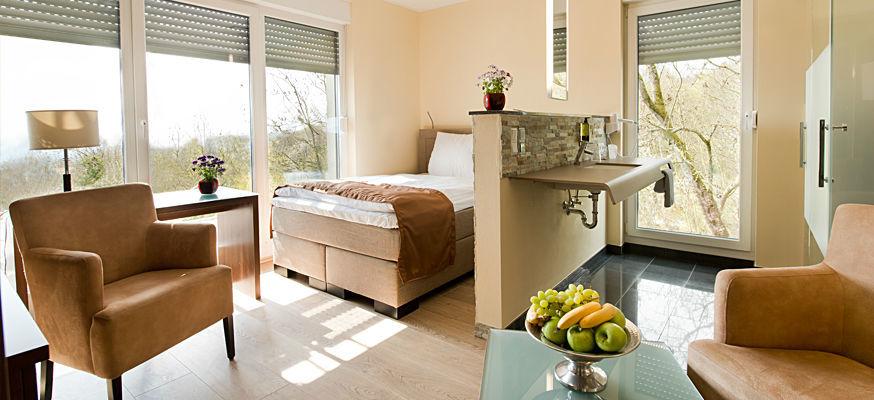 Beispiel: Hotelsuite, Foto: Zum Steinernen Schweinchen.