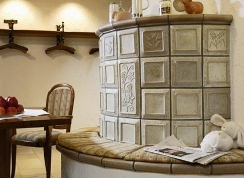 Beispiel: Kamin im Restaurant, Foto: AKZENT Hotel Lamm.