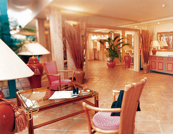 Beispiel: Lobby, Foto: Travel Charme Bernstein Prerow.