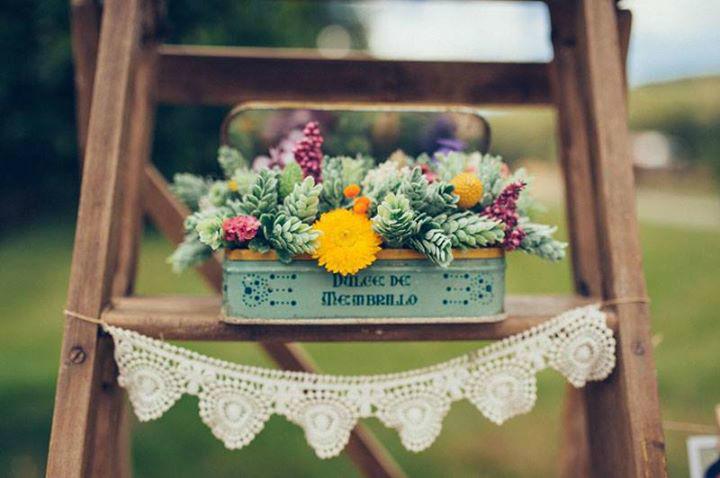 Flores en el Columpio.
