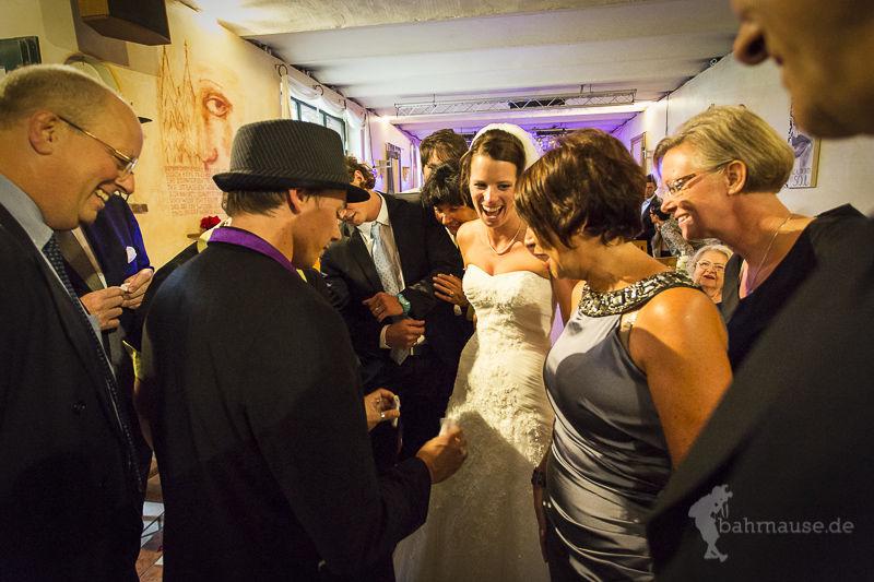 Zaubern auf Hochzeiten mit Dan Berlin aus NRW