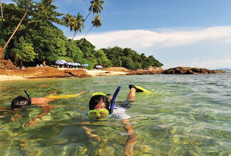 Snorkel en Malasia
