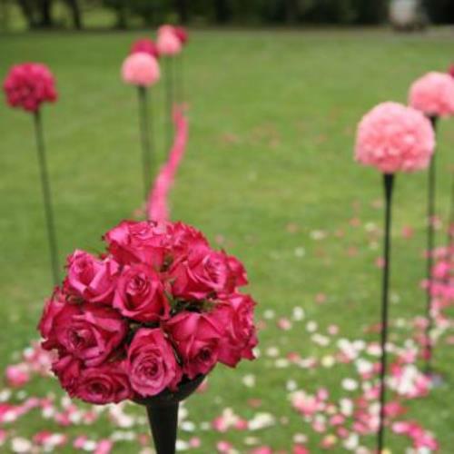 Beispiel: Florale Dekoration, Foto: AZ- Floristik und Dekoration.