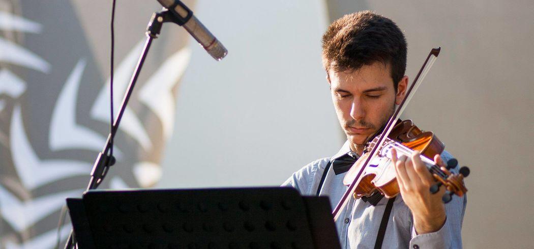 Il violinista dei Decostruttori Postmodernisti, Lorenzo Mercatelli