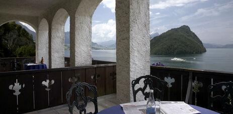Beispiel: Ausblick, Foto: Hotel FloraAlpina.