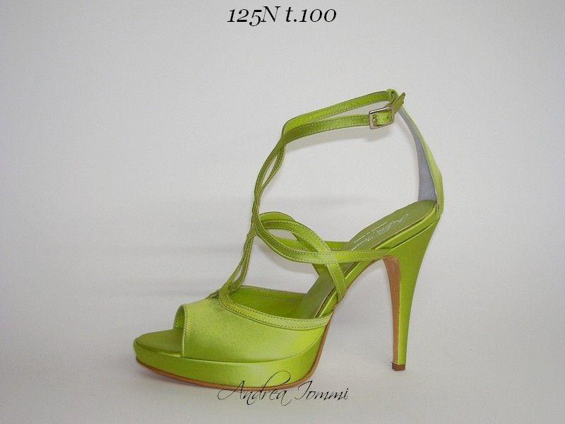 scarpa da sposa colrate