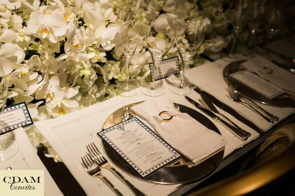 CDAM Design - Menu de jantar simples