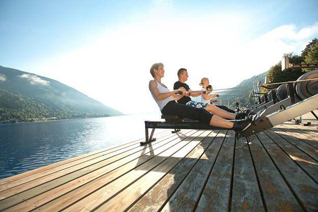 Beispiel: Fitnesstraining am See, Foto: Robinson Club.