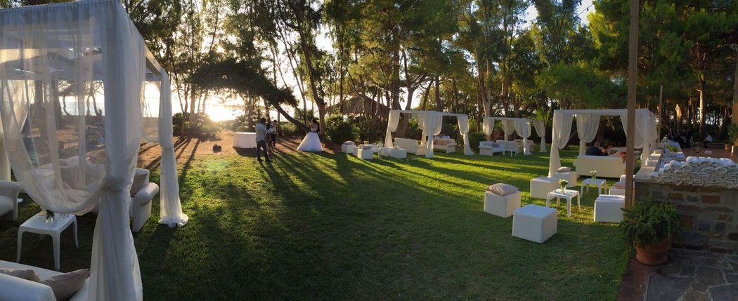 Park of ' Villa Sirena'
