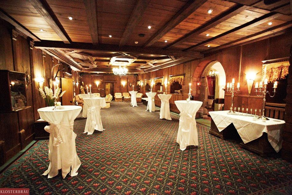 Beispiel: Sektempfang, Foto: Hotel & Spa Klosterbräu.