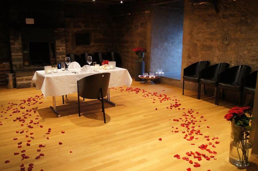 Beispiel: Hochzeitsdekoration, Foto: Schloss Wartensee.