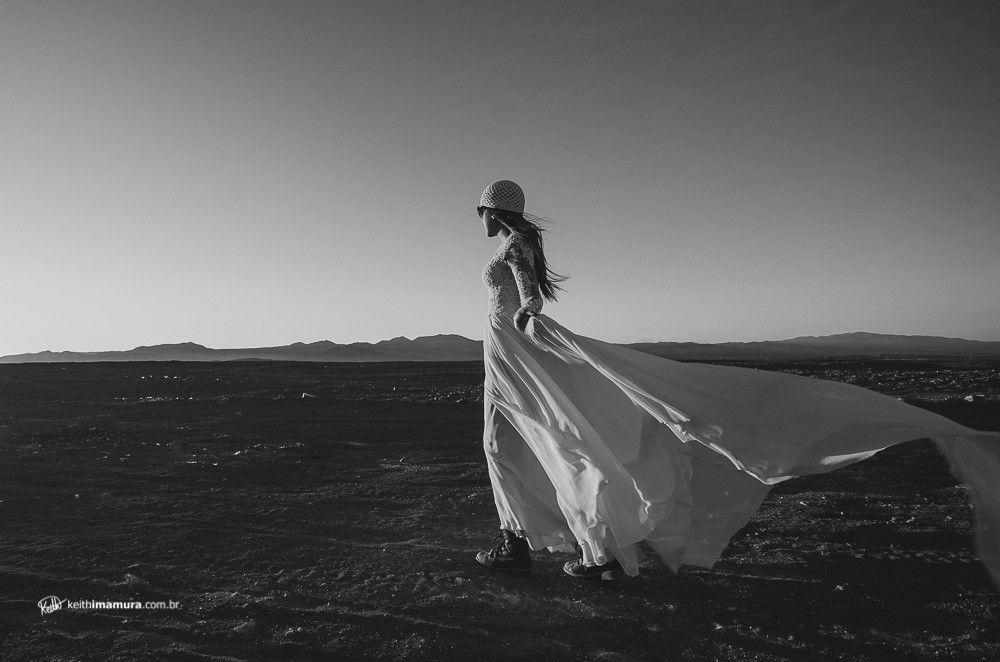 Noiva ao vento