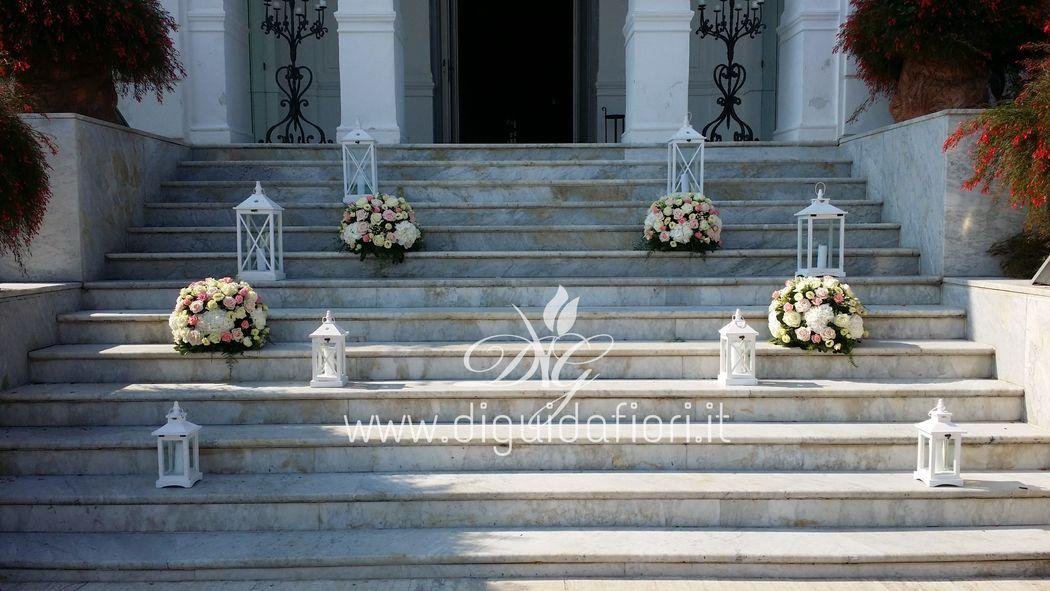 addobbo floreale Villa Cilento