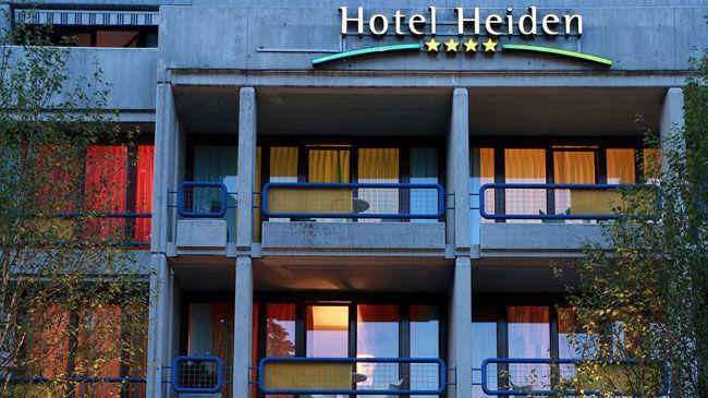 Beispiel: Außenansicht, Foto: Hotel Heiden.